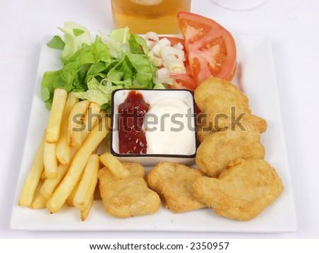 chicken nuggets clipart. chicken nuggets clipart.