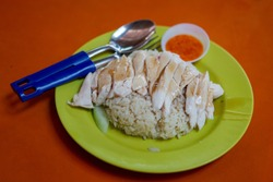 Chicken Rice is one of the most popular dishes in local restaurants and hawker centres across Singapore