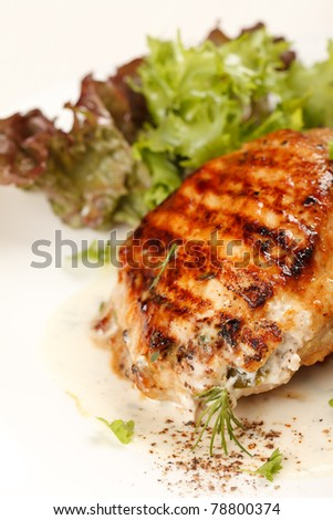 Chicken Steak with vegetables