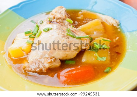 Chicken Stew Thai food