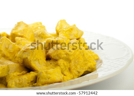 chicken with curry