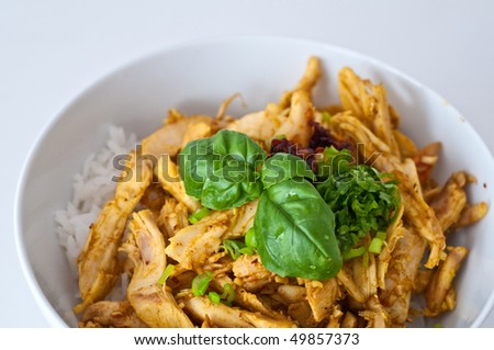 Chicken with Lemongrass