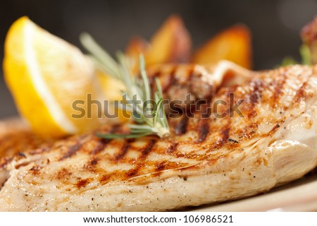 chicken with roasted potatoes