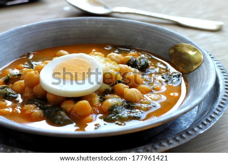 Spanish Spinach And Chickpea Stew Recipes — Dishmaps