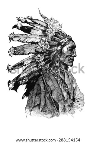 chief native american ink...