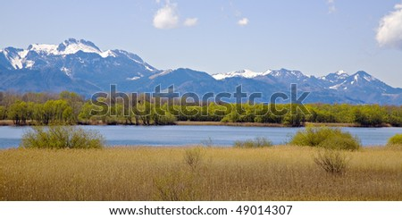 Chiemsee - the largest lake of Bavaria