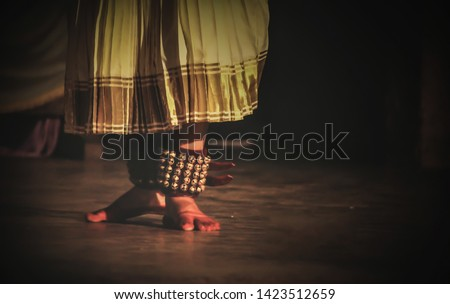 chilanka,  its a part of indian classical dance