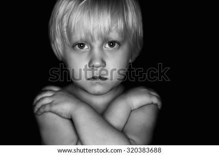 Child abuse - conceptual image Сток-фото ©