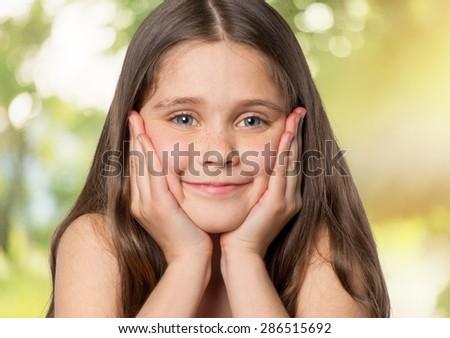 Child, Asian Ethnicity, Little Girls.