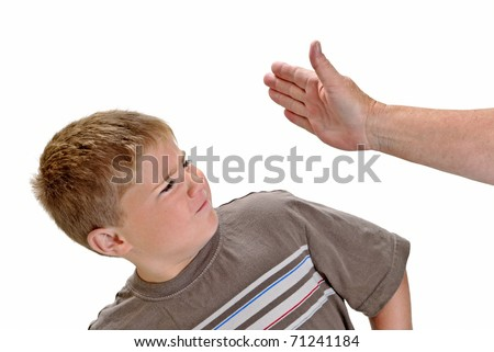Child being Slapped in Face