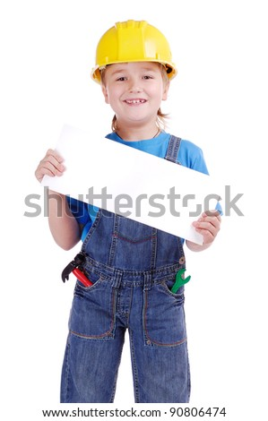 Child constructor holding the blank board