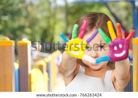 Child, disabled, childcare. ストックフォト ©