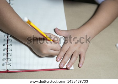 Child drawing Children drawing animals #1435489733