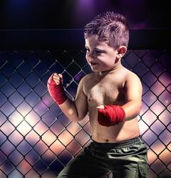 Child fighter.