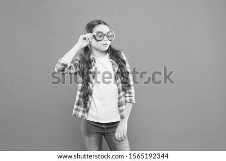 Child happy good eyesight. Sunglasses summer accessory. Eyesight and eye health. Care eyesight. Ultraviolet protection crucial while polarization more preference. Optics and eyesight. UV protection.