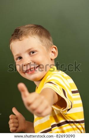 child having fun at recess