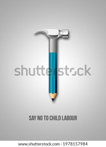 Child Labour Day. Stop Child Labour. World Day Against Child Labour.