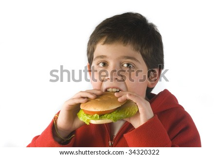 CHILD Morden bread with lettuce and tomato