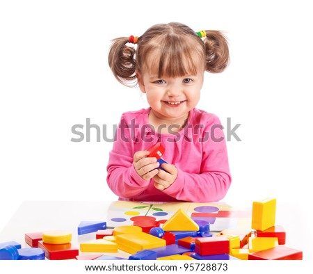 child plays in developing games