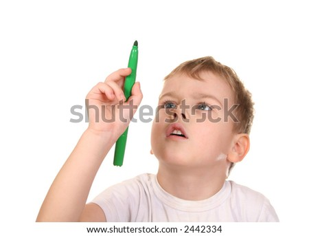 child point pen