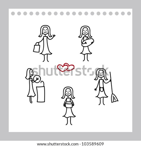 открытка, которую ребенок может нарисовать для мамы