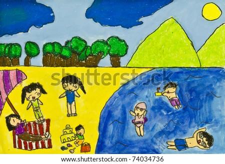 essay on family vacation