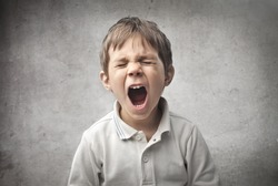 Child shouting