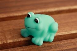 child toy for green frog bathtub