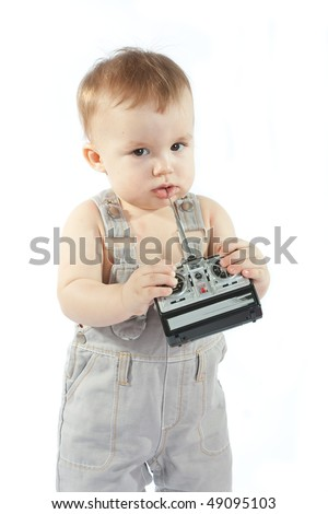 Child with a remote-control station