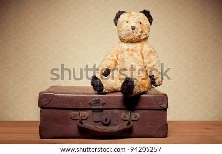 childhood nostalgia teddy bear. ...