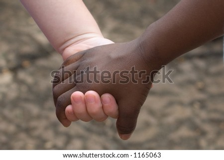 stock photo : Children Holding Hands