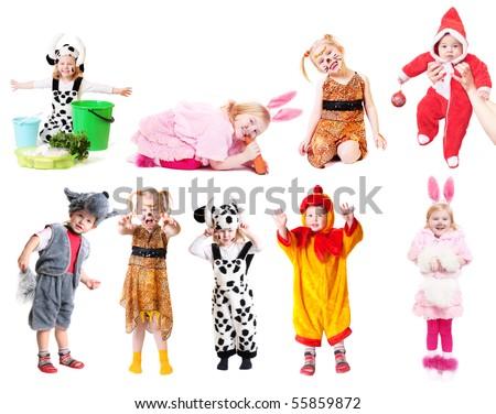 children in fancy dress Stock photo ©