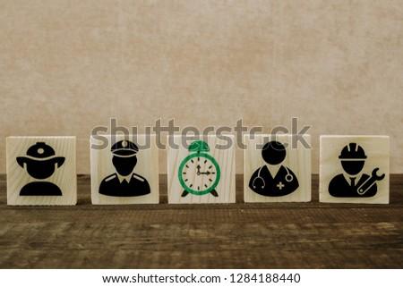 Children Kids Dream Jobs Diversity Occupations Concept #1284188440