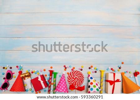 Children Party Background Birthday 593360291