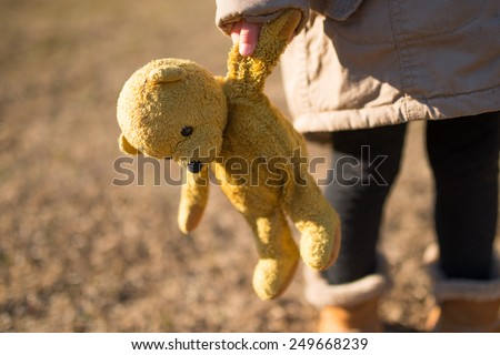 children playing in the teddy...