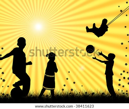 Children+playing+sports+pictures