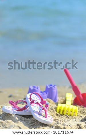 Children's beach accessories