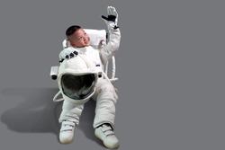 Children's dream job. Kids Dream Jobs Diversity Occupations. Little boy in space suit. Kid in space suit. Astronaut boy sitting. Astronaut boy smile.