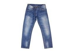 Children's jeans isolated