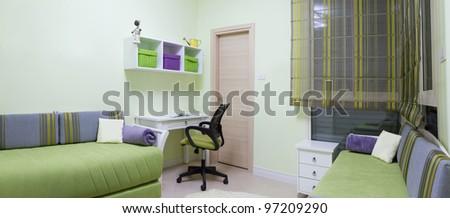 Children's living room interior