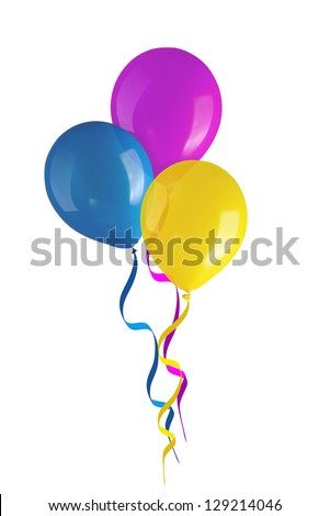 Children\'s party colorful balloons