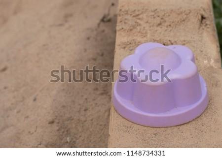 children's sandbox toy molds #1148734331