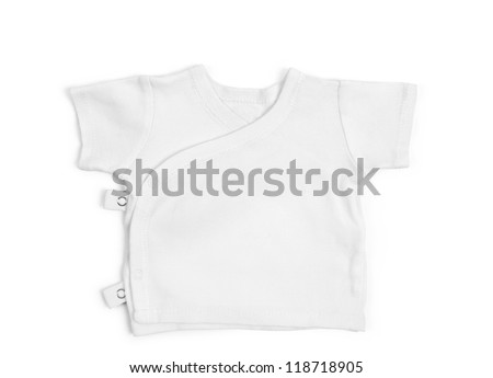 Children's t-shirt isolated over white background