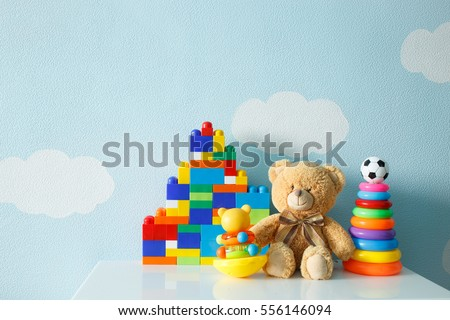 children's toys collection.