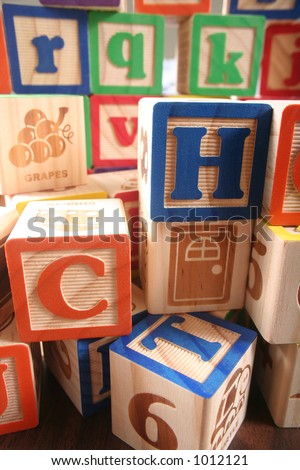Childrens Learning Blocks
