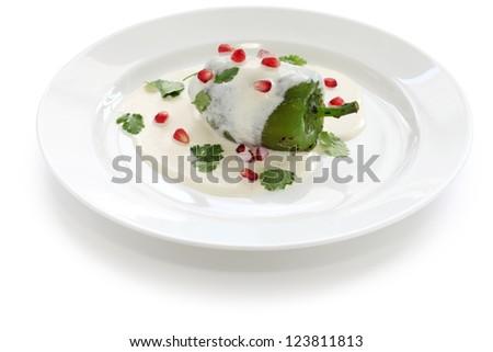 Vector Images Illustrations And Cliparts Chile En Nogada Mexican Food Hqvectors Com