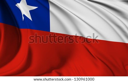 Chile flag HI-RES collection