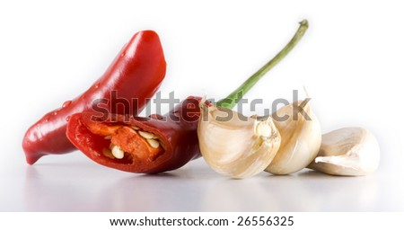 Chili and garlic