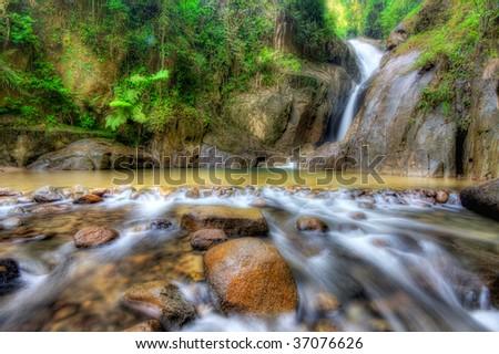 Chilling Waterfall Malaysia Chiling Waterfall Malaysia