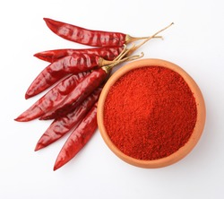 chilli powder with chillies dry red chillies